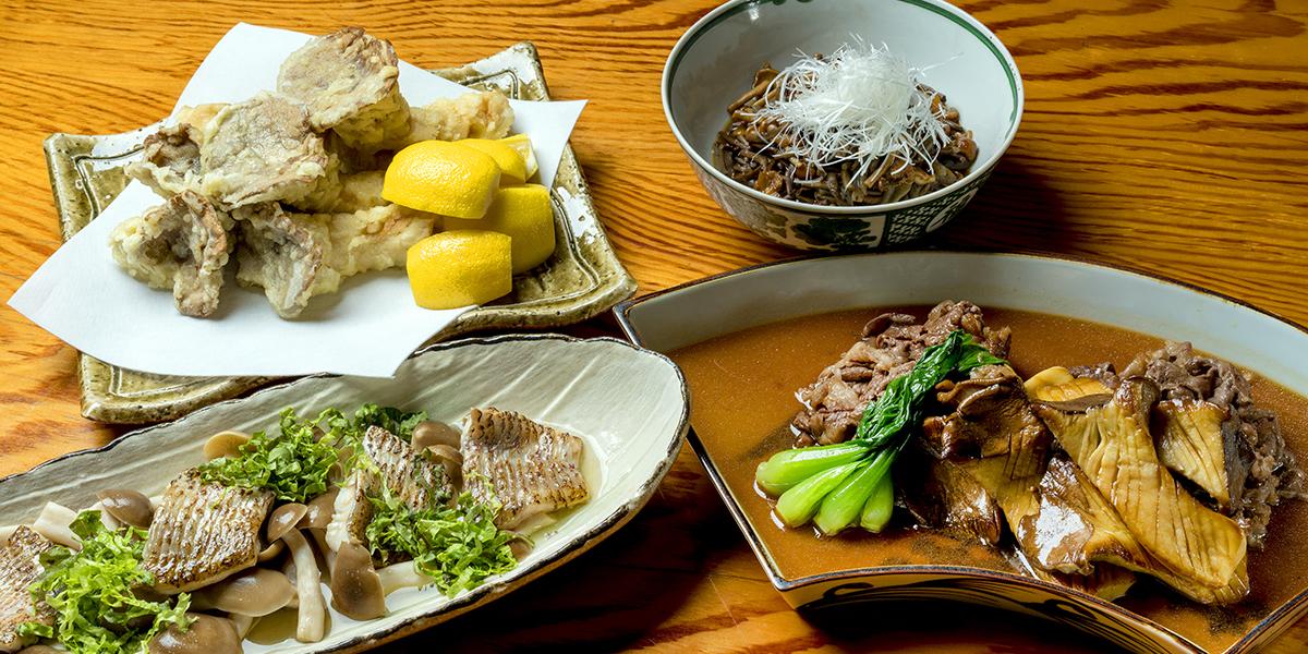 十津川村キノコ料理_つきぢ田村