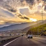 Spain highway