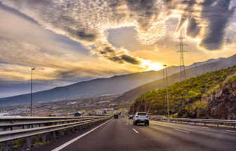 Spain highway