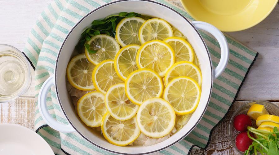 岩城島レモン鍋