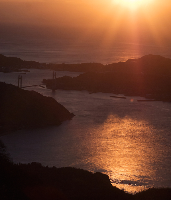 岩城島の海