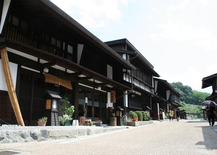 木曽町 福島宿