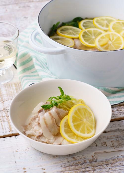 レモンポークとレモン鍋