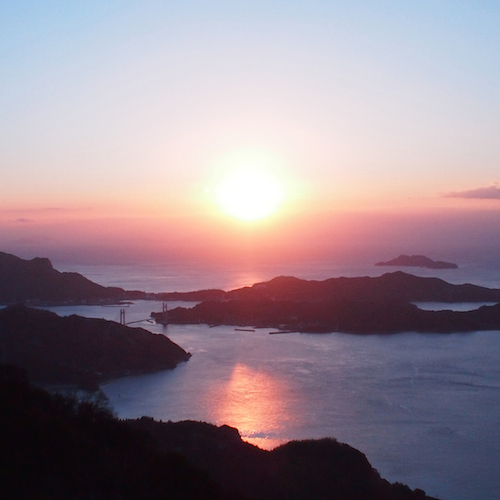 瀬戸内海 岩城島