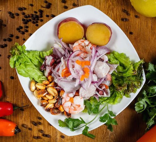 ペルー料理・セビーチェ