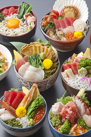 キラキラ丼(春)