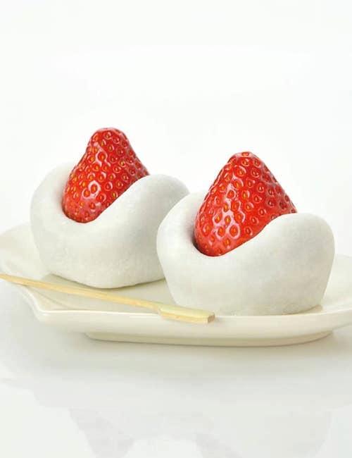 香月のイチゴ大福1