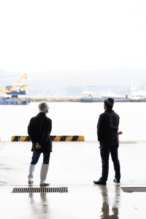 南三陸町 漁港